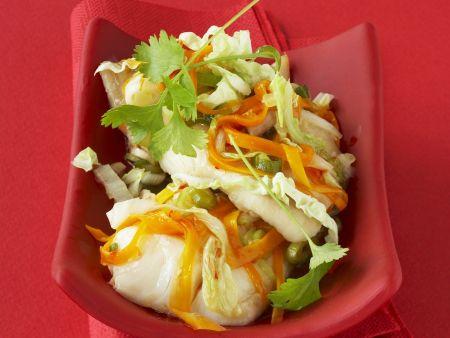 Pangasiusfilet mit Asia-Gemüse