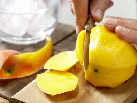Papaya-Mango-Shake: Zubereitungsschritt 2