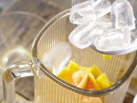 Papaya-Mango-Shake: Zubereitungsschritt 4
