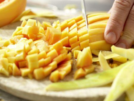 Papaya-Orangen-Marmelade: Zubereitungsschritt 2