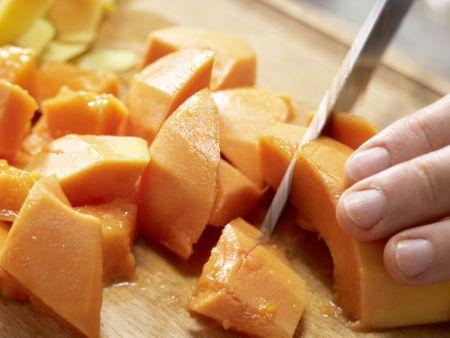 Papaya-Orangen-Smoothie: Zubereitungsschritt 2