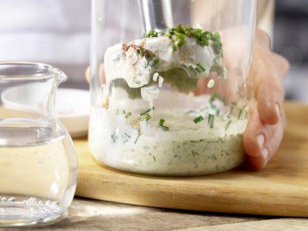 Paprika-Joghurt-Drink: Zubereitungsschritt 2
