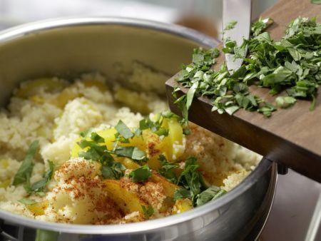 Paprika-Limetten-Couscous: Zubereitungsschritt 8