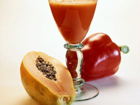 Paprika-Papaya-Shake