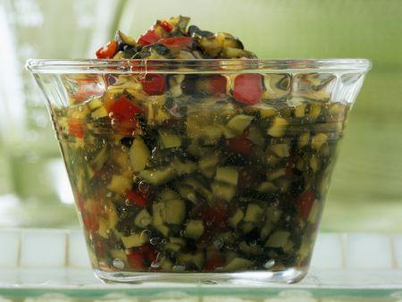 Paprika-Zucchini-Konfitüre