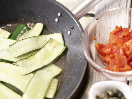 Paprika-Zucchini-Nudeln: Zubereitungsschritt 7