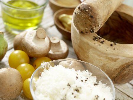 Parma-Salat mit Feigen: Zubereitungsschritt 1