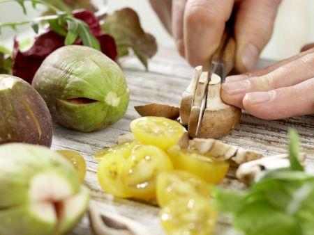 Parma-Salat mit Feigen: Zubereitungsschritt 6