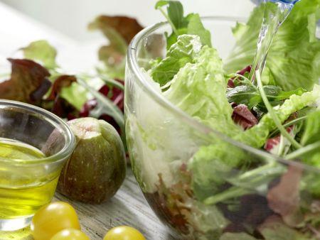 Parma-Salat mit Feigen: Zubereitungsschritt 7