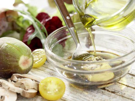 Parma-Salat mit Feigen: Zubereitungsschritt 8