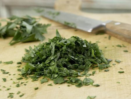 Pasta mit Venusmuscheln: Zubereitungsschritt 9