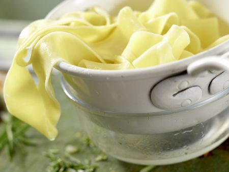 Pasta in Hirsch-Schoko-Sauce: Zubereitungsschritt 9