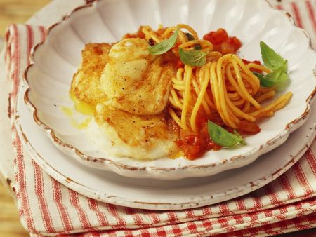 Pasta mit Mozzarella