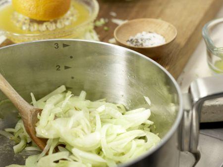 Pasta Siziliana: Zubereitungsschritt 2