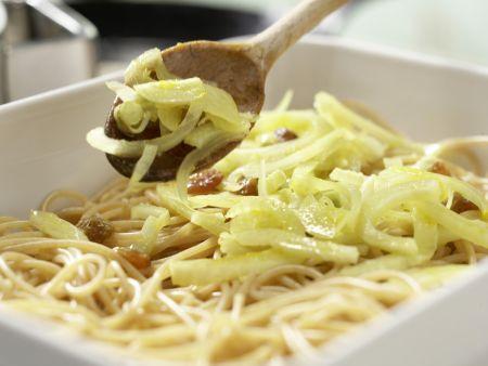 Pasta Siziliana: Zubereitungsschritt 7