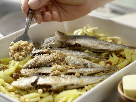 Pasta Siziliana: Zubereitungsschritt 8