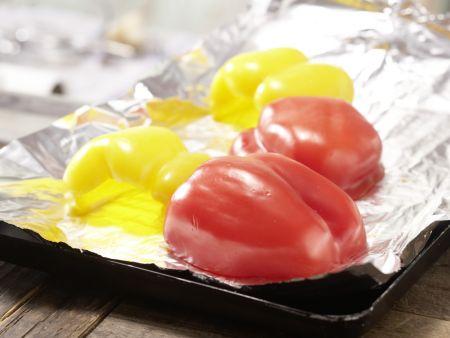 Pasta mit Walnuss-Tomaten-Pesto: Zubereitungsschritt 5