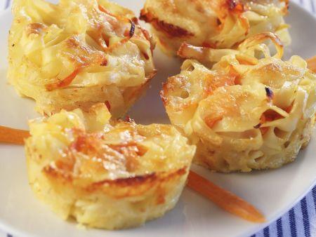 Pastamuffins mit Karotten