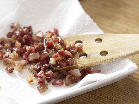 Pastasauce mit roten Zwiebeln: Zubereitungsschritt 3