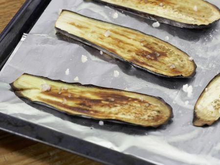 Pastete mit Auberginen und Rosmarinkartoffeln: Zubereitungsschritt 3