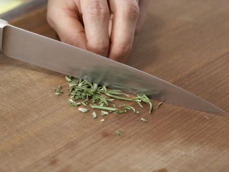 Pastete mit Auberginen und Rosmarinkartoffeln: Zubereitungsschritt 8