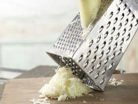 Pastinakenpuffer mit Dip: Zubereitungsschritt 1
