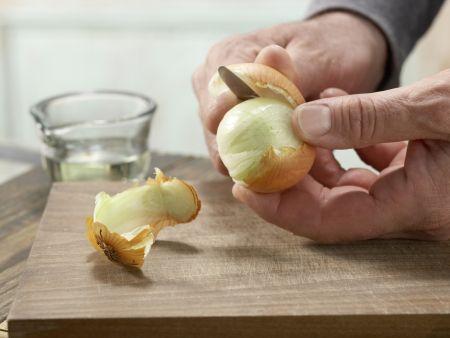 Pastinakenpuffer mit Dip: Zubereitungsschritt 2