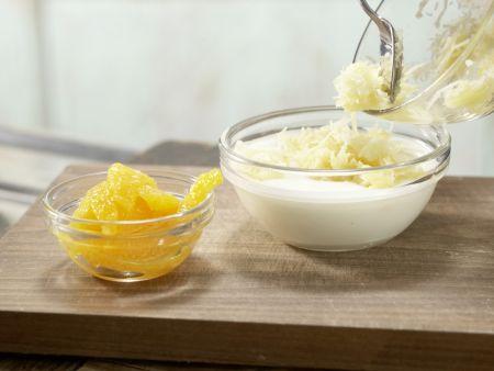 Pastinakenpuffer mit Dip: Zubereitungsschritt 6