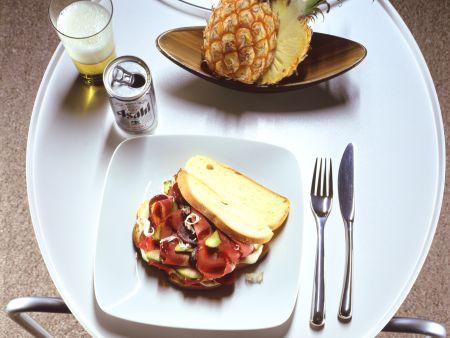 Pastrami-Sandwich