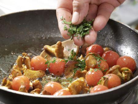 Perlhuhnbrust mit Goji-Beeren: Zubereitungsschritt 11
