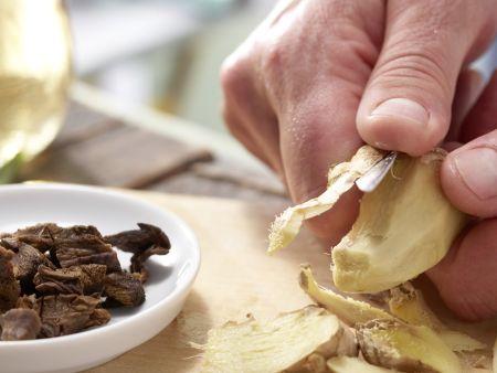 Pfannengerührtes Hähnchenfilet: Zubereitungsschritt 6