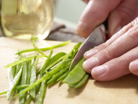 Pfannengerührtes Hähnchenfilet: Zubereitungsschritt 7