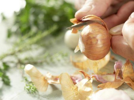 Pfeffriges Auberginen-Ragout: Zubereitungsschritt 2