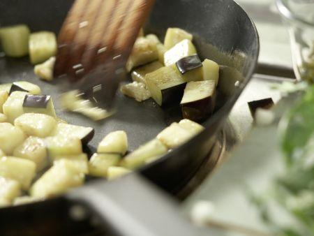 Pfeffriges Auberginen-Ragout: Zubereitungsschritt 9