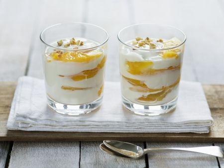 Pfirsich-Haselnuss-Joghurt