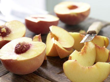 Pfirsichkuchen: Zubereitungsschritt 4