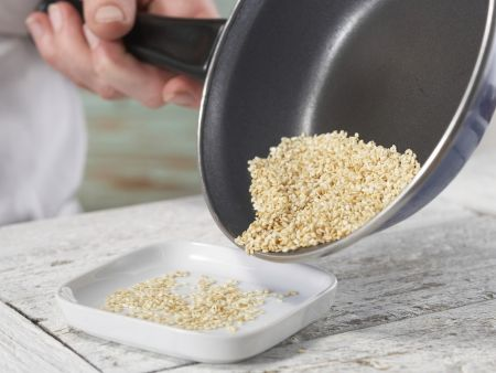 Pflaumen-Muffins: Zubereitungsschritt 1