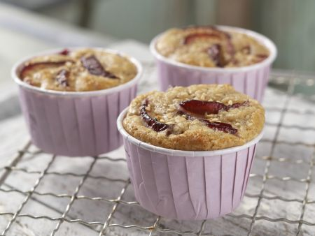 Pflaumen-Muffins: Zubereitungsschritt 6