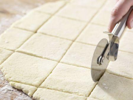 Pflaumenknödel mit Orangensauce: Zubereitungsschritt 7