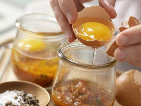 Pikante Eier im Glas: Zubereitungsschritt 8