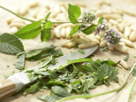 Pikante Erbsen-Bohnen-Schecke: Zubereitungsschritt 5