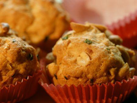 Pikante Erdnussmuffins
