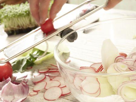 Pikante Quarkknödel: Zubereitungsschritt 5