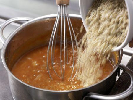 Pikante Tomaten-Grünkern-Creme: Zubereitungsschritt 4