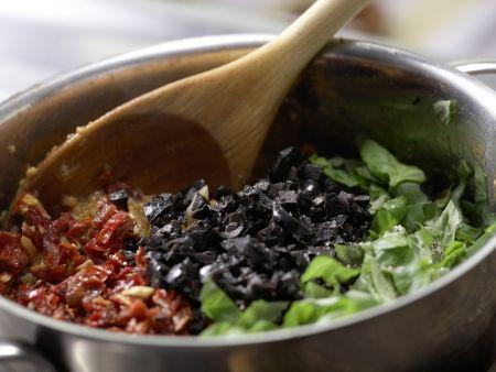 Pikante Tomaten-Grünkern-Creme: Zubereitungsschritt 7