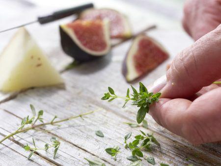 Pikanter Feigensalat: Zubereitungsschritt 4