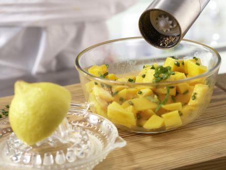 Pikanter Mangosalat: Zubereitungsschritt 3