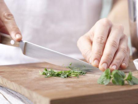 Pikanter Soja-Shake: Zubereitungsschritt 1