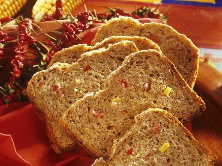 Rezept: Pikantes Gemüse-Brot