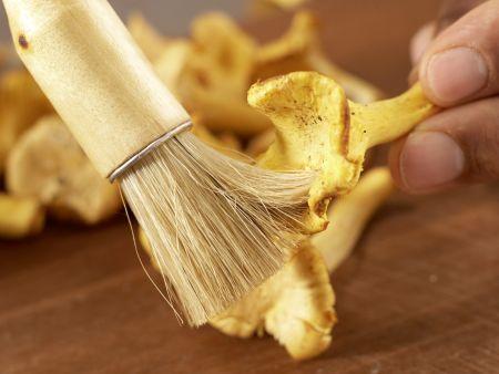Pilzgemüse auf Kichererbsenpüree: Zubereitungsschritt 3